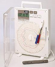 Registratori grafici circolari 150mm di temperatura,  d&#39umidità e di punto di rugiada. | Serie CTH89