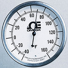 GL_HL_DIALTEMP All Stainless Steel Bi-Metal Stem Thermometer | GL and HL Series