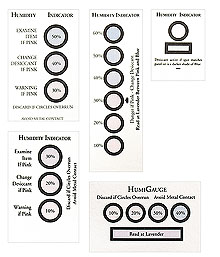 Economical, Reversible, Humidity Indicating Cards | HC Series