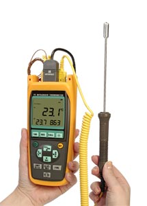 Termometri a termocoppia e RTD | Serie HH100