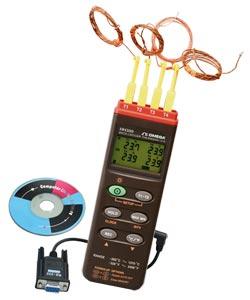 Termometro con registrazione dati a quattro canali. | HH309A
