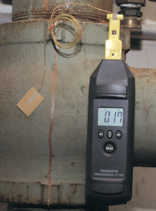 Handheld Thermometer with Magnet Hanger | HH74K