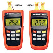 HH800 Series Handheld Digital Thermometers | HH800 Series