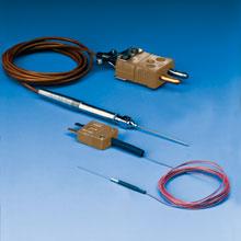 Sonde ipodermiche e ipodermiche mini con elementi a termocoppia e a RTD. |