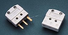 Connettori miniaturizzati a 3 spinotti per termocoppie, RTD e termistori. | MTP Connettore base maschio