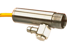 Rugged Infrared Thermocouple 17° (3:1) Field of View Integral Air Cool/Purge Head   OS36-3 Series