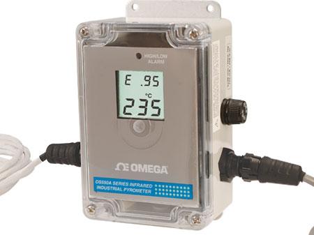 Termometro industriale ad infrarossi. | Serie OS550A