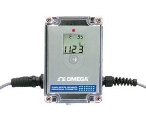 Termometro industriale all'infrarosso per alte temperature. | Serie OS555A