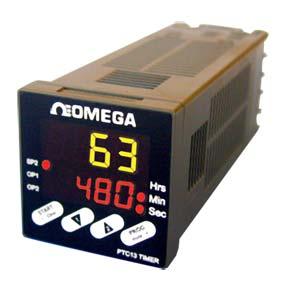 Panel Mount Programmable Timer 1/16 DIN IP65   PTC-13