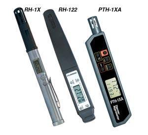 Tester tascabili per temperatura e umidità relativa. | PTH-1XA