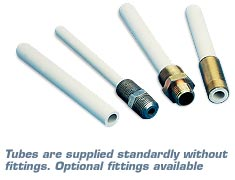 Ceramic Thermocouple Protection Tubes | PTRA and PTRM Series Omegatite 350 and 450