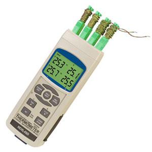 Termometro/registratori di dati portatili. | RDXL4SD/RDXL12SD