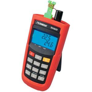 Misuratore portatile di temperatura/umidità.   | Serie RH820
