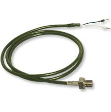 Robusta sonda con termocoppia ad attacco filettato per tubazione. | Serie (*)-G1/4