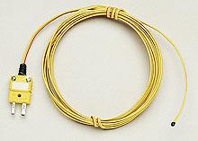 Epoxy Coated Tip Thermocouple, Types  J, K, T and E | TC-PVC and 5TC-PVC Series