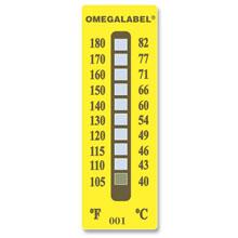 Etichette di temperatura non reversibili. | Serie TL-8 e TL-10