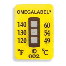 Non-Reversible OMEGALABEL™ Temperature LabelsTL-3 Range Series   TL-3