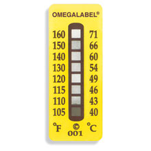 Non-Reversible OMEGALABEL™ Temperature Labels