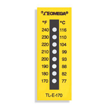 TL-E Series Non-Reversible Temperature Labels | TL-E Series