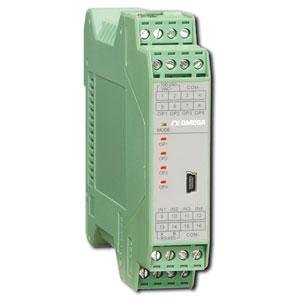 Doppio trasmettitore  di temperatura per guida DIN. | TXDIN70